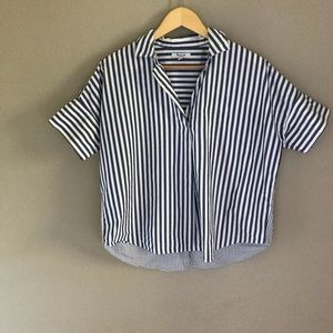 Madewell cotton blouse